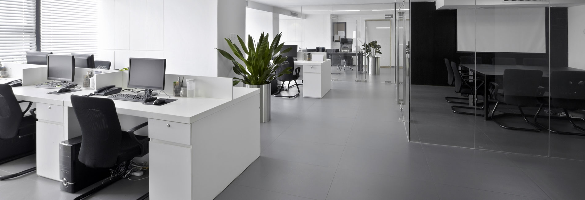 Schoonmaakwerkzaamheden kantoorgebouwen